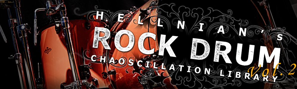 Chaoscillation Library Hellnian's Rock Drum Vol.2